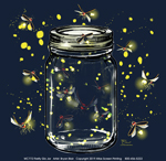 Firefly Glo Jar Youth T-shirt
