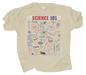 Science 101 Adult T-shirt