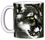 Eye of the Panther Ceramic Mug