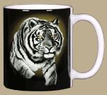 Eye of the Tiger Ceramic Mug - Back