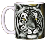 Eye of the Tiger Ceramic Mug