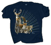 Wild Things Adult T-shirt