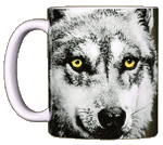 Eye of the Wolf Ceramic Mug