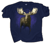 Bull Moose Adult T-shirt