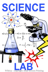 "Science Lab 2"" X 3"" Magnet"