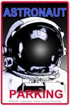 "Astronaut Parking 2"" X 3"" Magnet"
