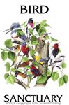 "Bird Sanctuary 2"" X 3"" Magnet"