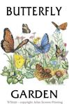 """Butterfly Garden 2"""" X 3"""" Magnet"""