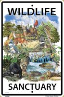 Wildlife Sanctuary Sign