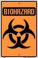 "Biohazard Warning 2"" X 3"" Magnet"