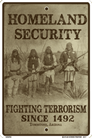 Homeland Security Sign