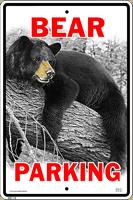 Bear Parking Sign