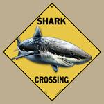Shark Crossing Sign