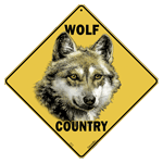 Wolf Country Sign