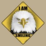 I Am Smiling Eagle Sign