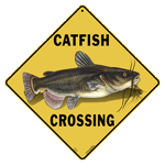 Catfish Crossing Sign